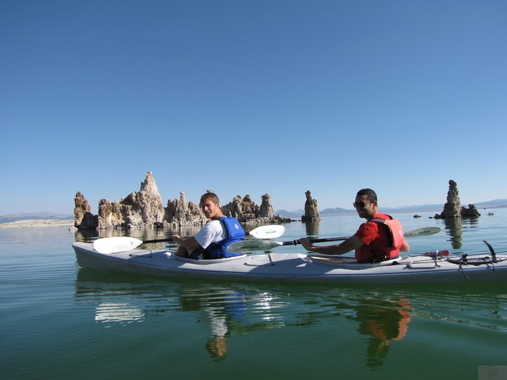 kayak mono lake